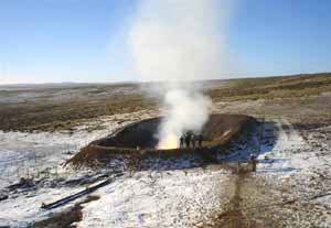 Nuevos yacimientos de gas natural medio ambiente for Imagenes de gas natural